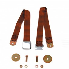 1947-72 Chevy-GMC Truck Seat Belt Aircraft Latch Style Copper