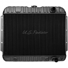 1959-1960 El Camino Radiator, Small Block, 4-Row, For Cars With Manual Transmission & Without Air Conditioning, U.S. Radiator