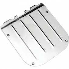 1955-1957 Chevy Nomad & Wagon Tailgate Access Cover Stainless Steel