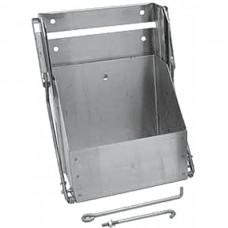 1947-59 Chevy Truck Drop Down Battery Box-Group 26 Batteries-Stainless Steel