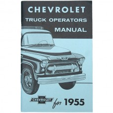 1955 Chevy Truck Owner's Manual 2nd Series