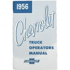 1956 Chevy Truck Owner's Manual