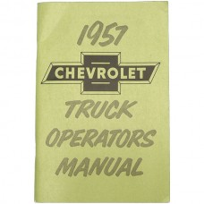1957 Chevy Truck Owner's Manual