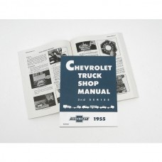 1955 Chevy Truck Shop Manual 2nd Series