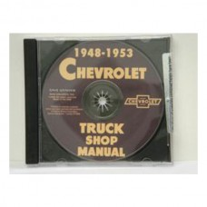 1948-53 Chevy Truck Shop Manual On CD