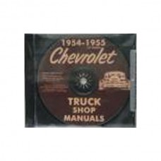 1954-55 Chevy Truck Shop Manual On CD