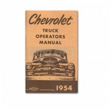 1954 Chevy Truck Owner's Manual