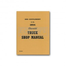 1955 Chevy Truck Shop Manual Supplement (First Series)