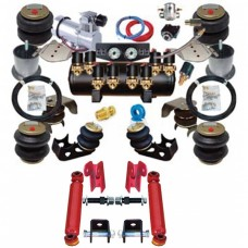 Chevy Air Ride Suspension Kit, Complete, 1955-1957