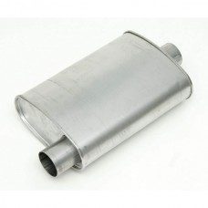 "1955-1957 Chevy Turbo Muffler, Aluminized 2 1/2"" Diameter"