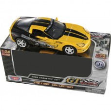 2005 Corvette Diecast Model, 1:24 Scale, Yellow