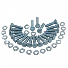 Corvette Direct Bolt Knockoff Wheel Screw & Washer Kit, Car Set, 1963-1966