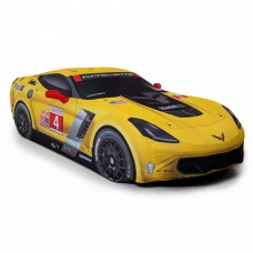 Corvette C7R Coupe Photographic Satin Stretch Car Cover, CoverKing, 2014-2018