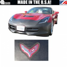 2014-2018 Covercraft Colgan Corvette Stingray Original Bra, Vinyl, 1-Piece With Emblem & License Plate Opening