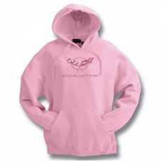 C5 Hooded Sweatshirt Pink