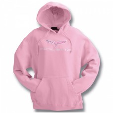 C6 Hooded Sweatshirt Pink