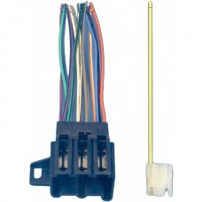 Corvette Radio Wiring Harness & Connector, 1977Late-1989