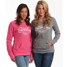 Camaro Sweatshirt, Ladies, Camaro Rally Girl, Pink
