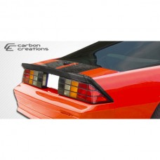 Camaro Carbon Creations Xtreme Wing Trunk Lid Spoiler, Extreme Dimensions, 1982-1992