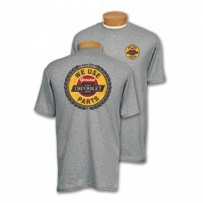 """We Use Genuine Chevrolet Parts"" T-Shirt"