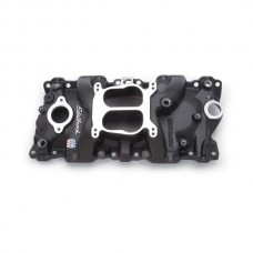 1987-1995 Camaro  Edelbrock Performer Intake Small Block  Chevy W/ Iron Heads Black