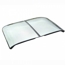 1968-1982 Corvette Roof Panels, T-Top, Mirrored Glass, Silver