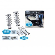 1958-1964 Impala, Fullsize Chevy Front Coil-Over Shock Conversion Kit, Dual Adjustable Small Block, CPP, 450lb Spring rating
