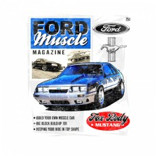 """Ford Muscle Magazine"" White T-Shirt"
