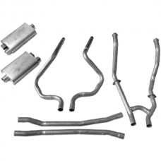 1964-1966 Mustang GT Dual Exhaust Kit