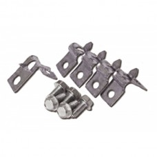 1968-1972 Chevelle -Malibu Fuel Line Retaining Clips 5/16 , For Single Line Applications