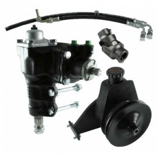 1966-1977 Ford Bronco Power Steering Conversion Kit, 200/250 In-Line 6 With Factory Manual Steering, Borgeson