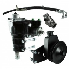 1966-1977 Ford Bronco Power Steering Conversion Kit,  289/302/351W With Factory Manual Steering, Borgeson