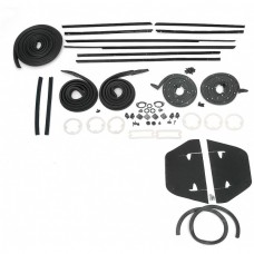 1964 Chevy Impala 2-Door Hardtop Weatherstrip Kit