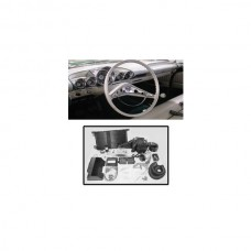 1959-1960 Chevy Impala & El Camino Air Conditioning Kit, In-Dash, With 4-LeverControls, Gen IV, Vintage Air