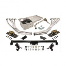 1955-1957 Chevy CPP LS Engine Installation Kit, With Ceramic Coated Headers