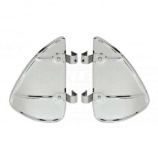 1947-87 Chevy Truck Vent Window Breezies Stainless Steel