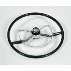 1947-1954 Chevy-GMC Truck Complete Steering Wheel Butterfly Style Black
