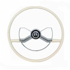 1947-54 Chevy-GMC Truck Complete Steering Wheel Butterfly Style White