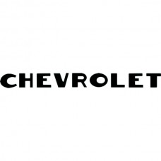 """CHEVROLET"" Tailgate Letters 2 3/4"" x 5 1/2"", 1947-1953"