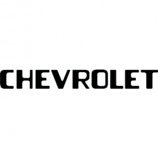 """CHEVROLET"" Tailgate Letters, 3 1/2"" by 28 1/2"", Stepside, 1954-1987"