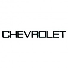 """CHEVROLET"" Tailgate Letters 1 3/4"" Tall, 1981-1986"