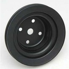 1969 Chevelle Water Pump Pully,396/375 HP, Deep Single Groove , Black