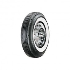1957 Ford Thunderbird Tire, 750 X 14, 2-1/4 Whitewall, Tubeless, Goodyear Custom Super Cushion
