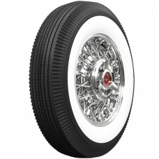 1955-1956 Ford Thunderbird Tire, 670 X 15, 2-11/16 Whitewall, Tubeless, Universal
