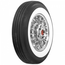 1955-1956 Ford Thunderbird Tire, 670 X 15, 2-11/16 Whitewall, Tubeless, US Royal