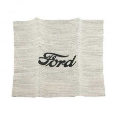 Cloth Speaker Cover - Ford Script - Original Type Cloth - Open Car - Ford