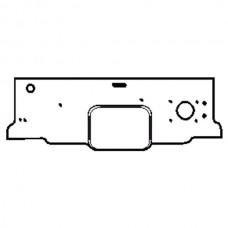 1948-52 Ford Pickup Firewall Cover, ABS Plastic, F1