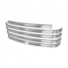 1948-50 Ford Pickup Grille Molding Kit, With Crank Hole, Polished