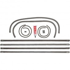 1928-1931 Model A Front Door Window Channel Kit For Both Doors