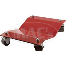 Wheel Dolly Set - 4 Piece Set - 12 Wide X 16 Long - Powder-Coated Red Finish